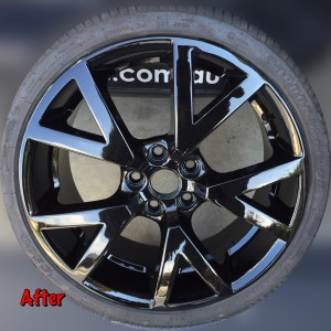after wheel